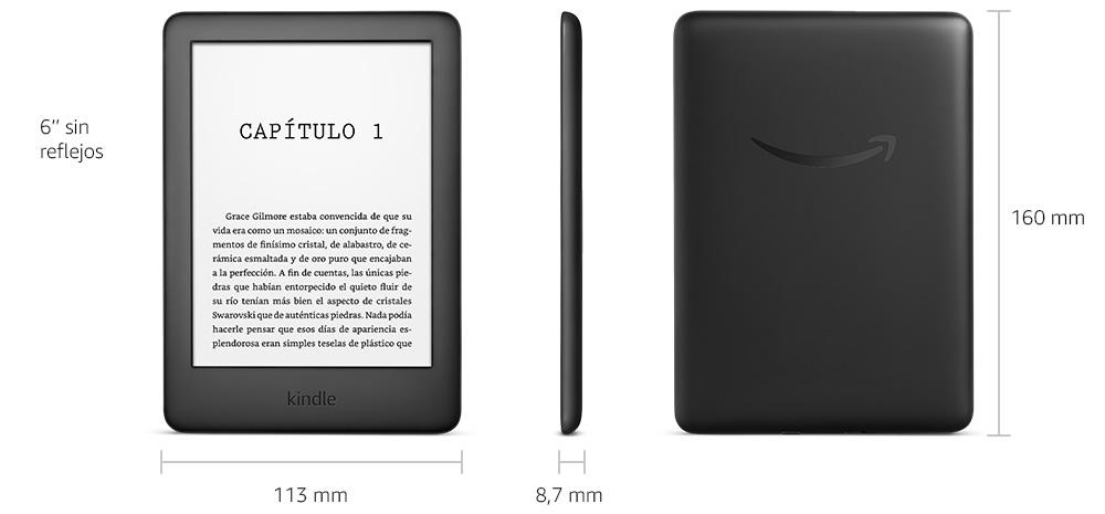 Medidas del nuevo Kindle básico