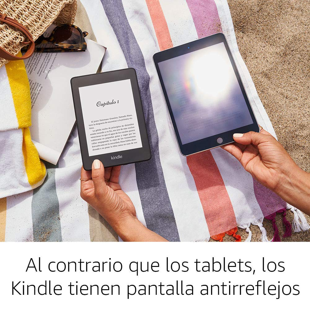 Comparativa entre tablet y Kindle Paperwhite 2019